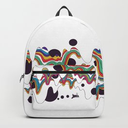 Psychedelic Planet Backpack