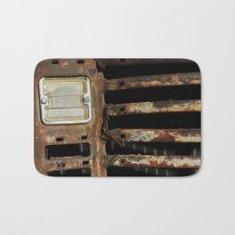 Detail: Rusted International 1 Bath Mat