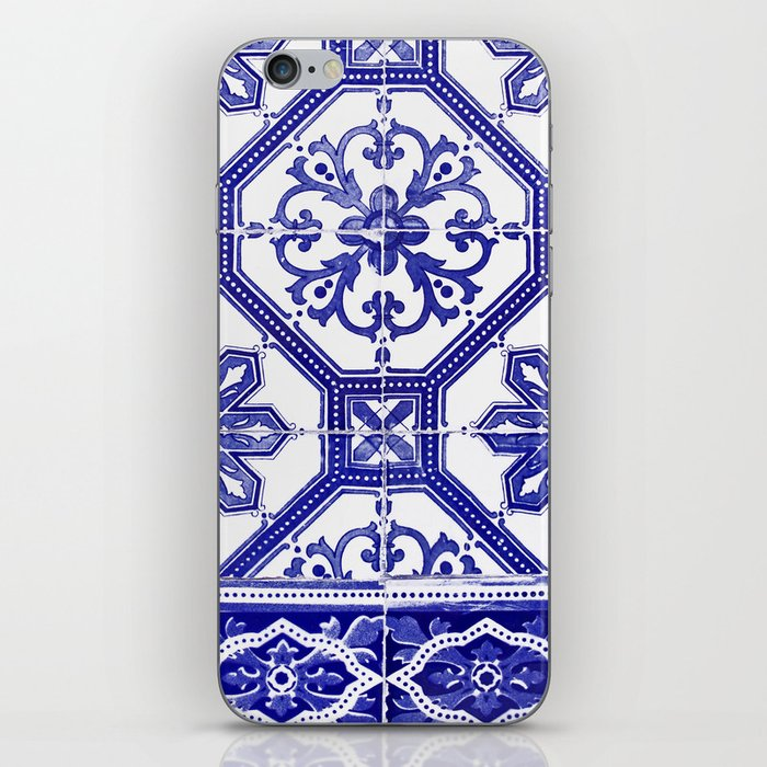 Portuguese tiles iPhone Skin