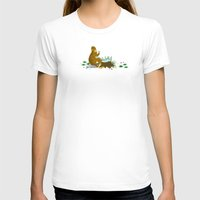 bigfoot T-shirts featuring Bigfoot Busted by Tim Paul