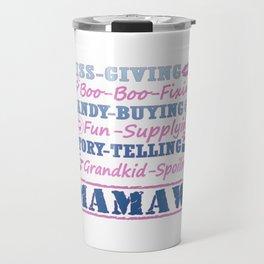 I'M A PROUD MAMAW! Travel Mug