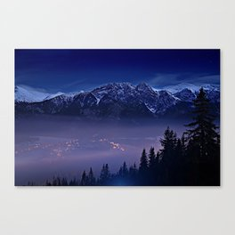 The Mountain's Dream Canvas Print