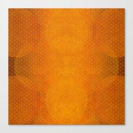 """""""Sabana Sunset Light Polka Dots"""" Canvas Print"""