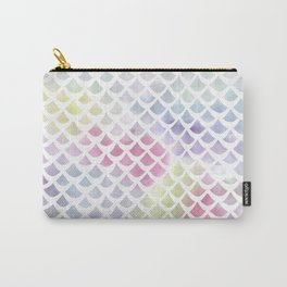 Watercolor fish scale pattern Carry-All Pouch