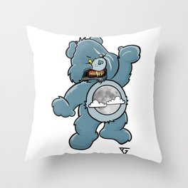 Werebear Snarl Throw Pillow