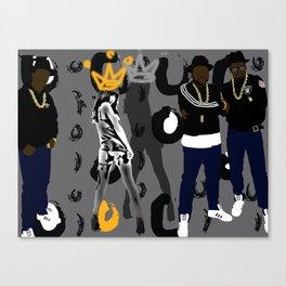 run dmc & Royalty Canvas Print