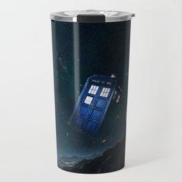 tardis doctor who Travel Mug