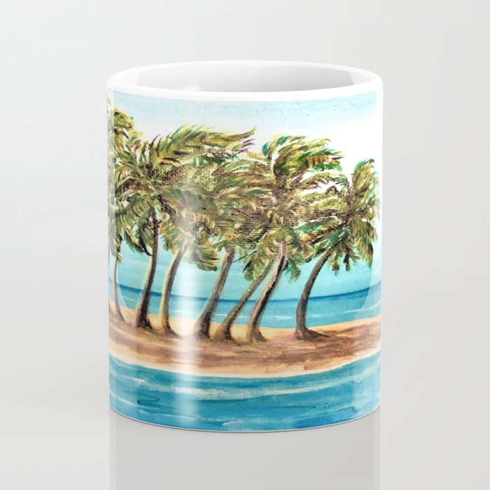 Private Island Painting Coffee Mug