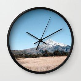 vulcano lanin Wall Clock