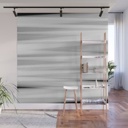 Black and White Stripes Abstract Wall Mural