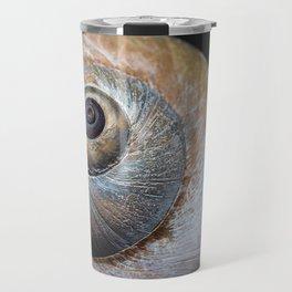 Moon snail sea shell 2863 Travel Mug