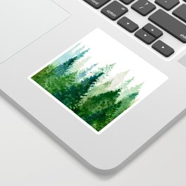 Pine Trees 2 Sticker