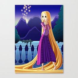 Rapunzel - Tangled Canvas Print