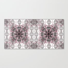 Gothic ornamental architectural Canvas Print