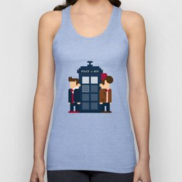 Doctor Who 10th & 11th Unisex Tank Top