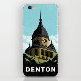 Denton Courthouse  iPhone Skin