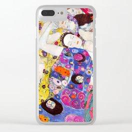 "Gustav Klimt ""Die Jungfrauen (The Virgins)"" Clear iPhone Case"