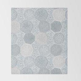 Silver Souk Throw Blanket