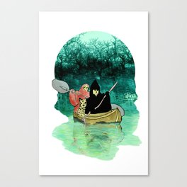 death squad Canvas Print