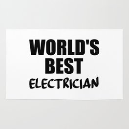 electrician best in the world Rug