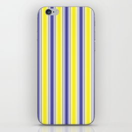 Complementary Series: 1. Purple and Yellow Gradient iPhone Skin