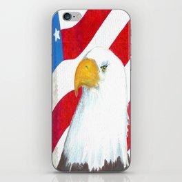 Eagle And Flag iPhone Skin