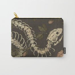 Snake Skeleton Carry-All Pouch
