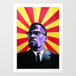 Almighty Malcolm Art Print