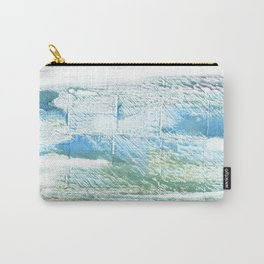 Mint cream abstract watercolor Carry-All Pouch