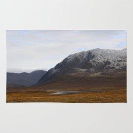 Alaska Range in Autumn Rug