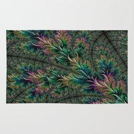 Iridescent Feathers Rug