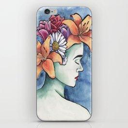 Garden Head iPhone Skin