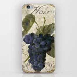 Tuscan Table Noir iPhone Skin