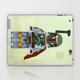 Star.Wars Boba Fett styled Mini Figure Laptop & iPad Skin