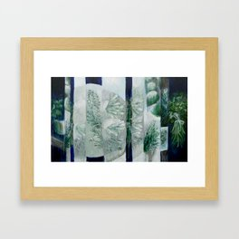 Herbology Framed Art Print
