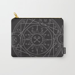 Witch's Mandala Carry-All Pouch