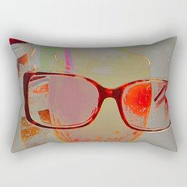 series drink - Orange drink Rectangular Pillow