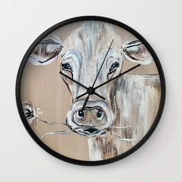 """""""Marge""""  the Cow Wall Clock"""