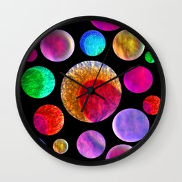 My Happy Solar System Wall Clock