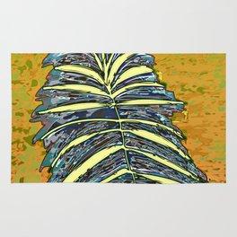 Palm Leaf Fosil 2 / Nature 13-12-16 Rug