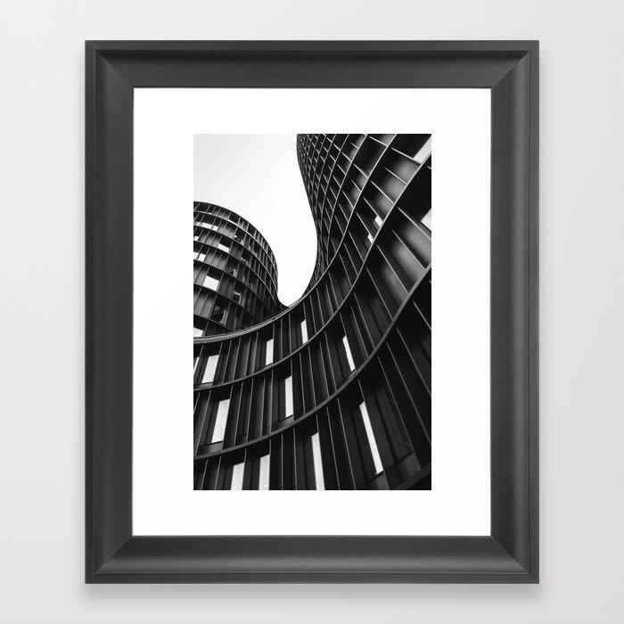 AXEL TOWERS / Copenhagen, Denmark Framed Art Print