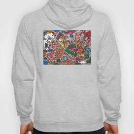 The Dragon with Owl Hoody