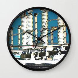 """Electric City"" Wall Clock"