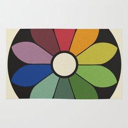 James Ward's Chromatic Circle Rug