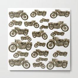 Motorcycles Metal Print