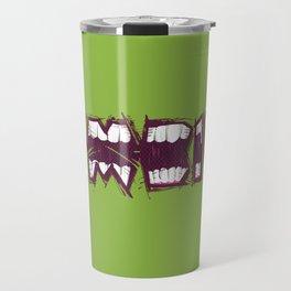 Zombie bites Travel Mug