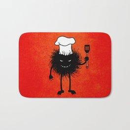 Evil Bug Chef Loves To Cook Bath Mat