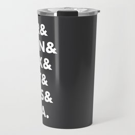 Dungeons and Dragons Abilities Travel Mug