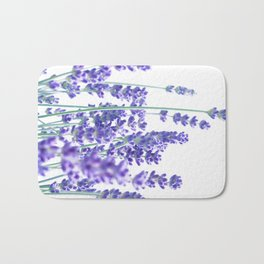 Fresh Lavender #1 #decor #art #society6 Bath Mat