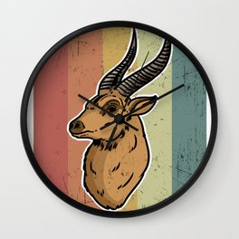 Wild, Animal, Forest Wall Clock